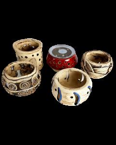 Räucherstövchen Keramik individuelle Einzelstücke